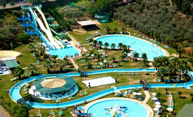 Отель Корфу Gelina Village Resort & Spa 4* с аквапарком «Гидрополис»